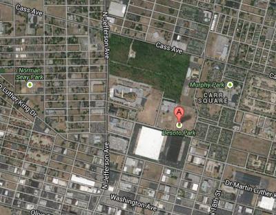 Pruitt Campus Map.Desoto Park St Louis City Talk