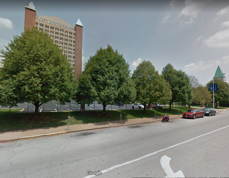 Google Street View Image - One less surface parking lot