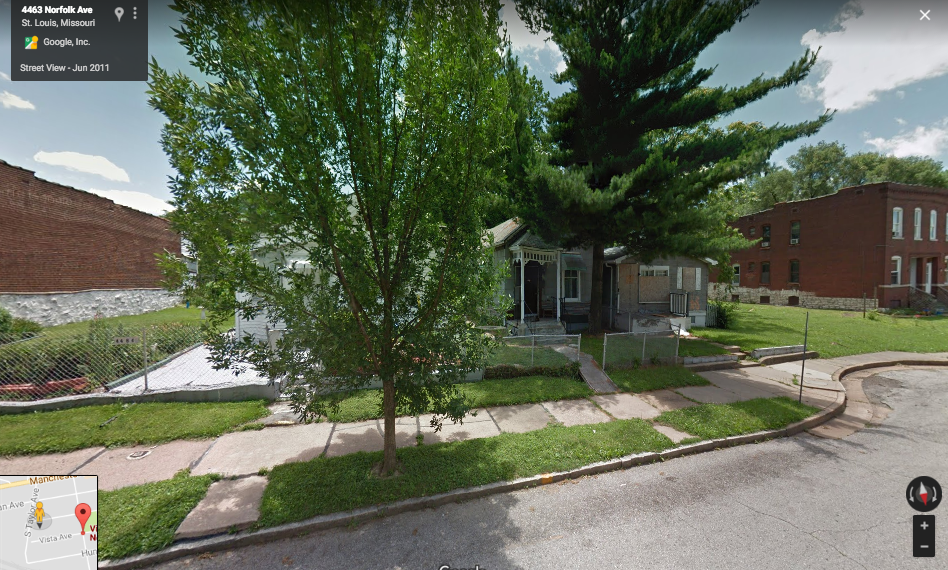 4400 Block of Norfolk Avenue - Before