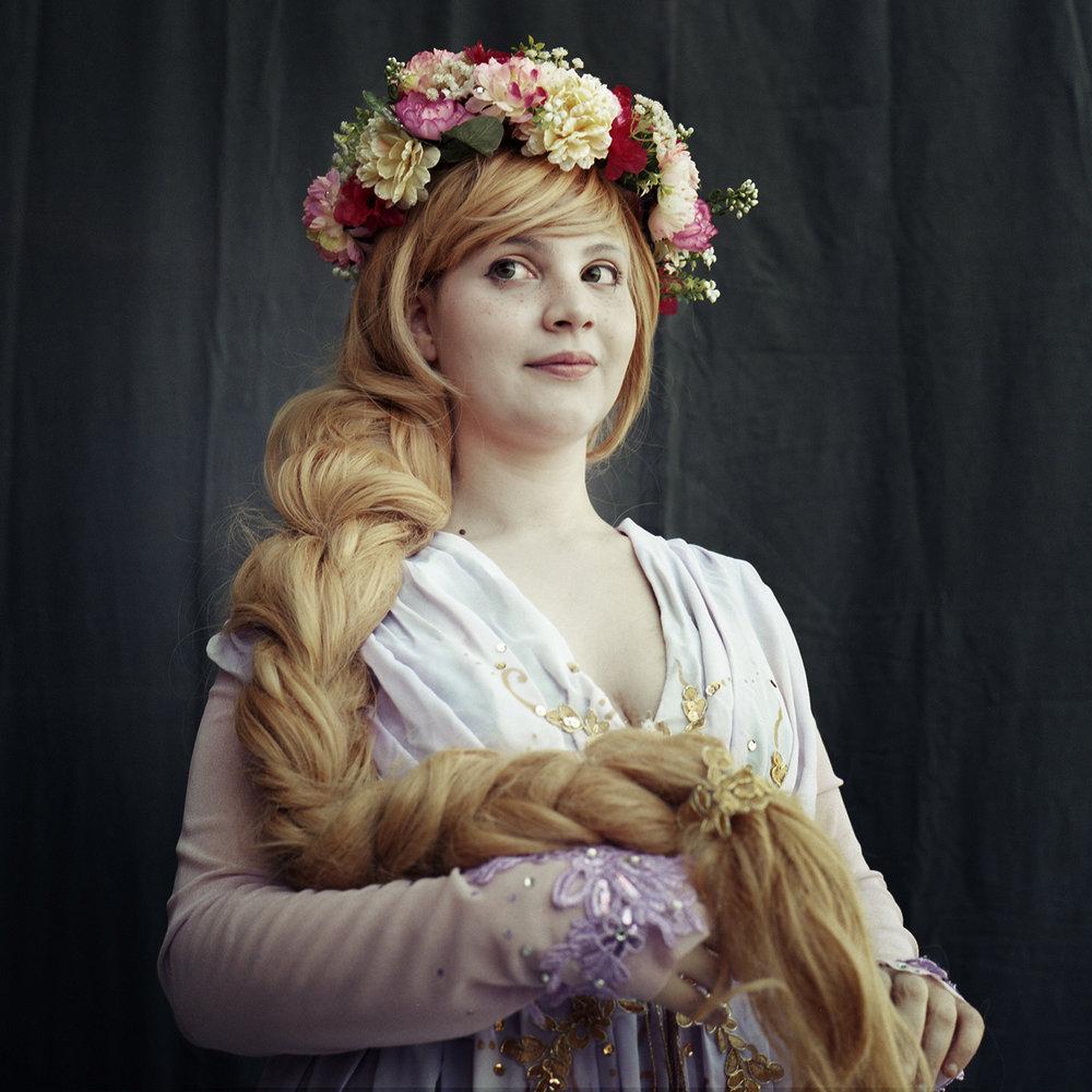 Giulia   Rapunzel - Disney