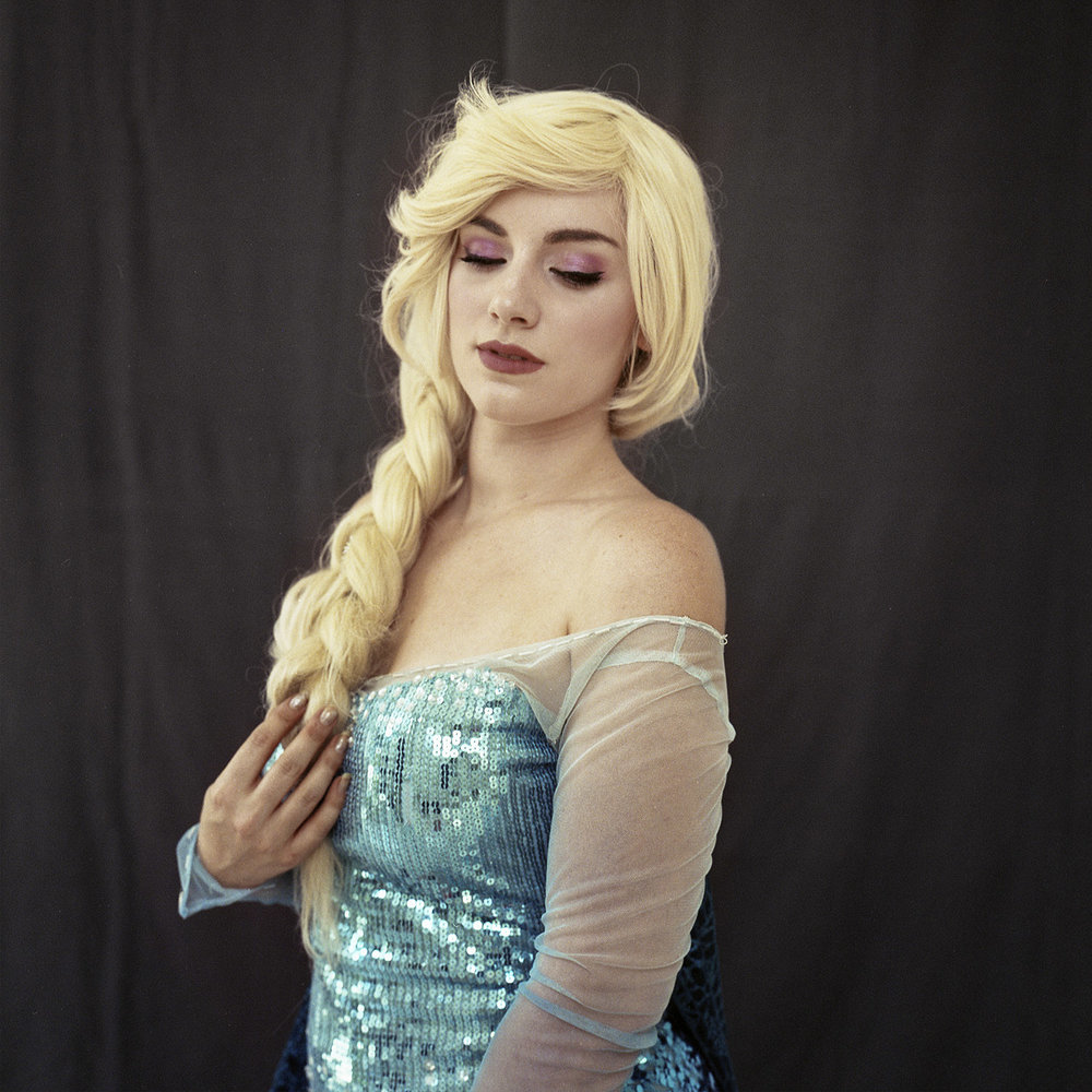 Giulia | Elsa - Frozen  ongoing series