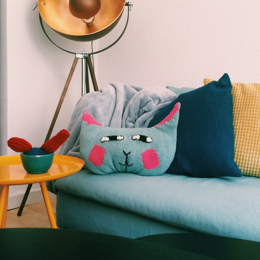 1. As a cushion on your sofa. There's never too many cushion in one sofa.