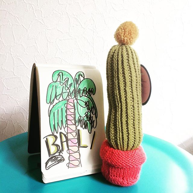 We're changing scenery and flying to Bali for some tropical vibe inspiration (and to attend some show of course!) Last day to order cactus from our Cacti Parti collection is until May 26th. Who knows we'll come home with a head full of COCONUTS dreams. Go get'em now!