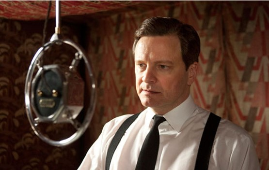 Colin Firth as King George VI (fight/flight)