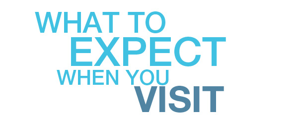 What to expect when you visit  - In this intro video, we walk you through the whole process & what you are to expect when you visit us.
