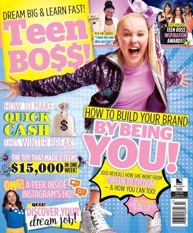 Via Teen Boss/Bauer Media Group