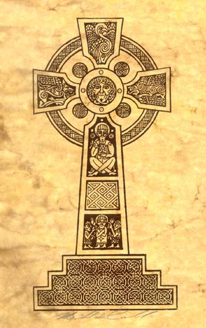 Celtic Cross Ii Michael Carroll Celtic Design