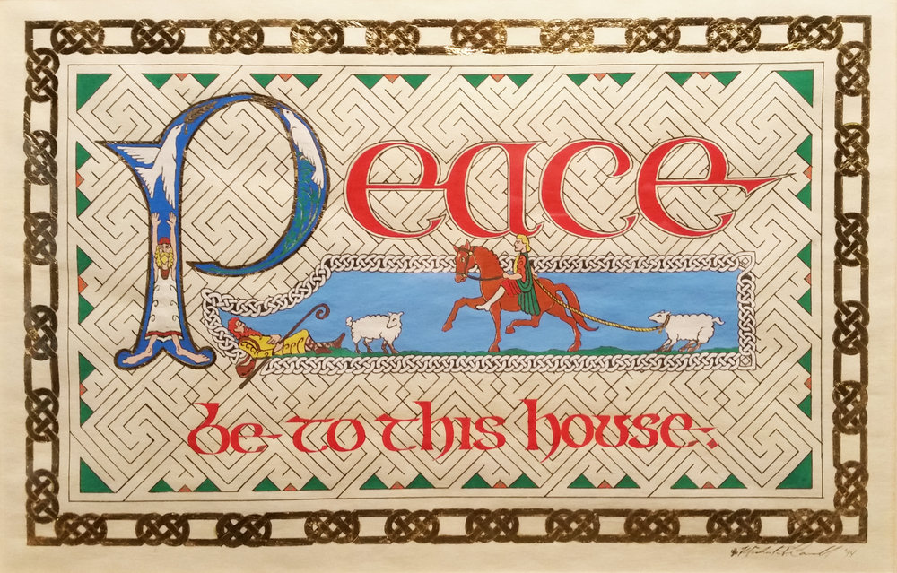 1994: Peace Be To This House, private collection