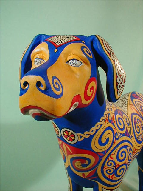 Celtic Hound, detail