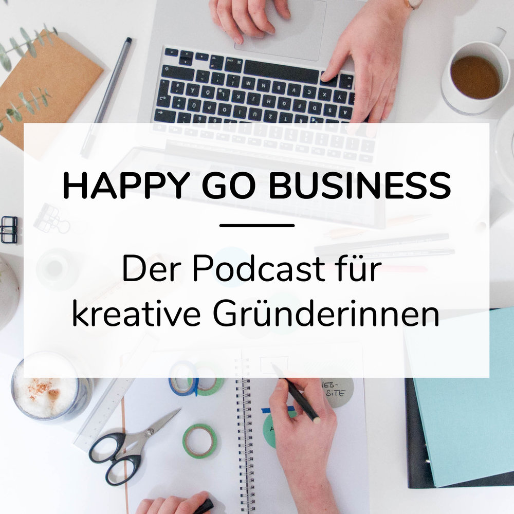 Alle Interviews findest du als  Happy Go Business Podcast  auch direkt auf Apple Podcasts!