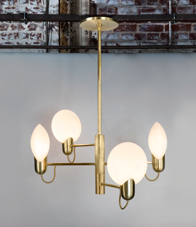 Jennifer Hang Chandelier  -  Inquire