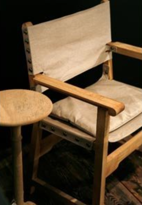 Big Chair and Pedestal  - Inquire