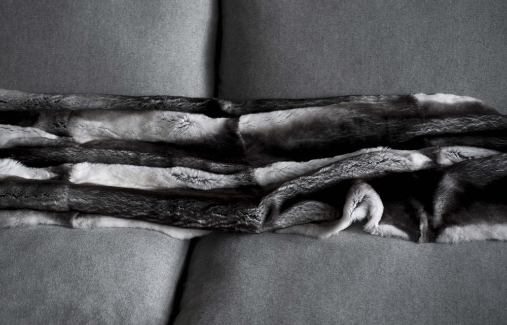 Lanvin Fur Blanket  - Inquire