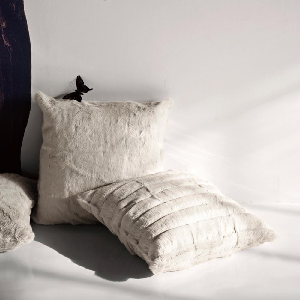 Maxim and Nigel Fur Cushions  - Inquire