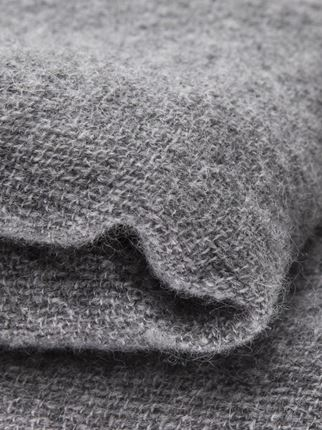 Grey Cashmere Blanket  - Inquire