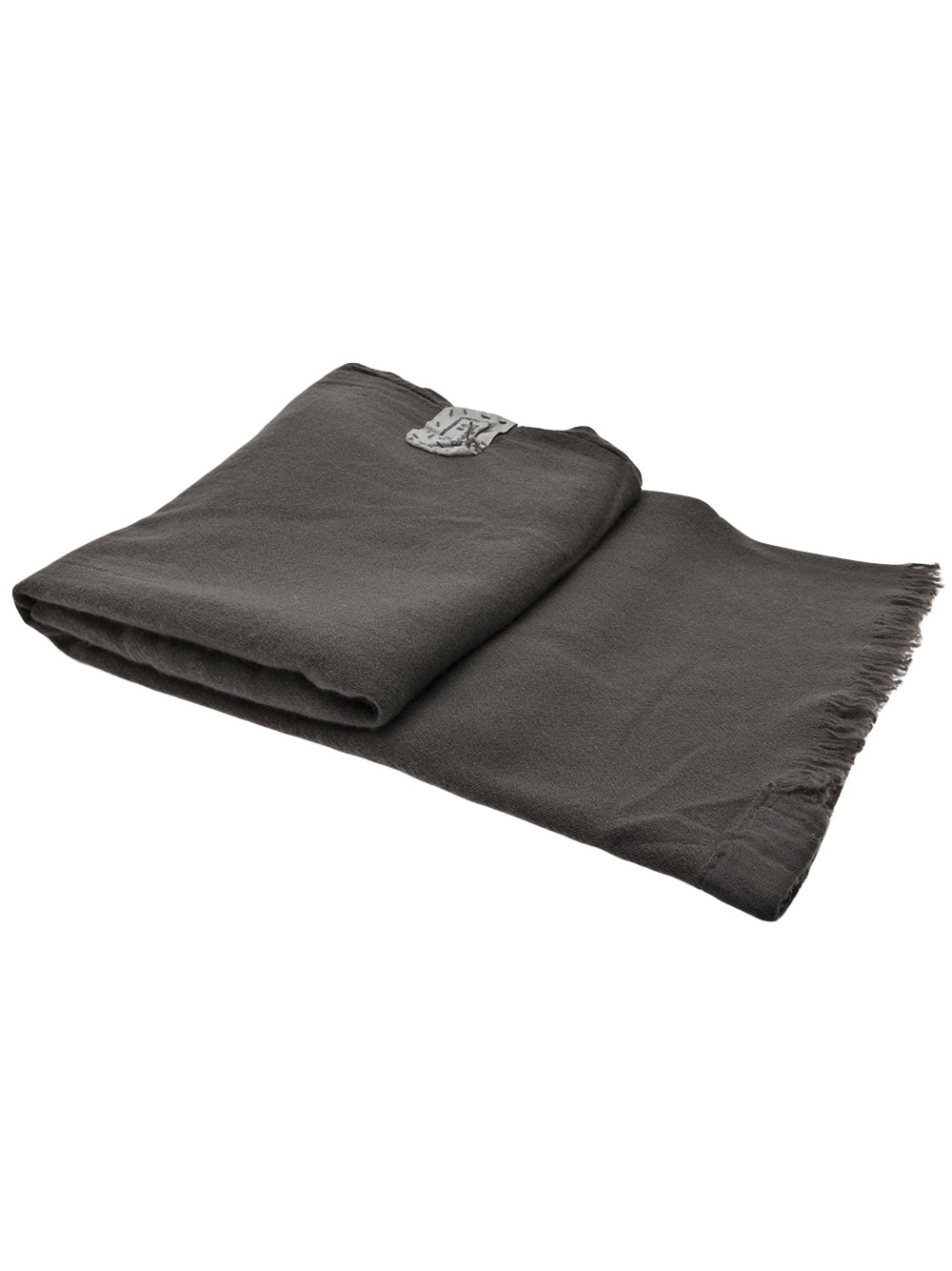 Old Black/ Café Cashmere Blanket  - Inquire