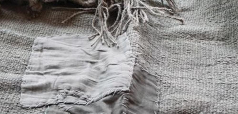 Grey Vintage Hemp Rug  - Inquire