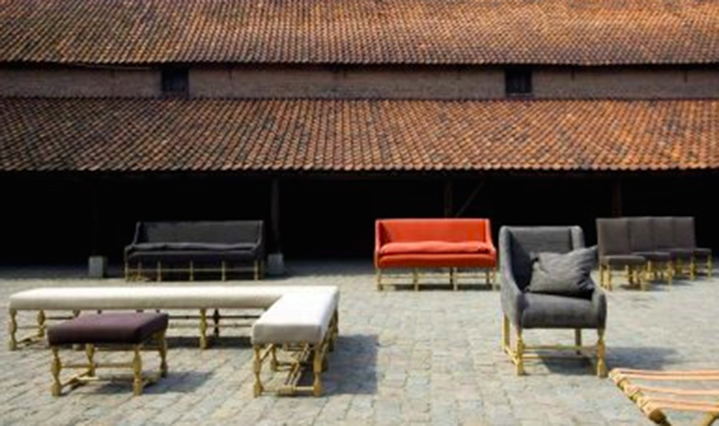 Variety of Mathilde Sofas, Chairs, and Benches  - Inquire