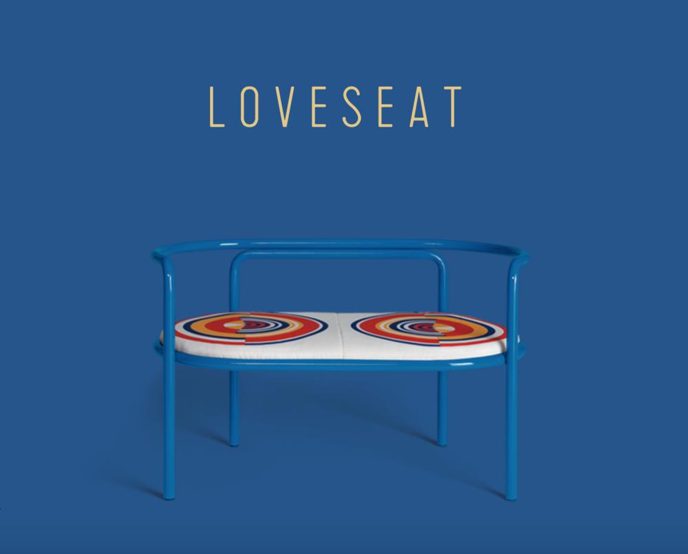 Locus Solus Loveseat  - Inquire