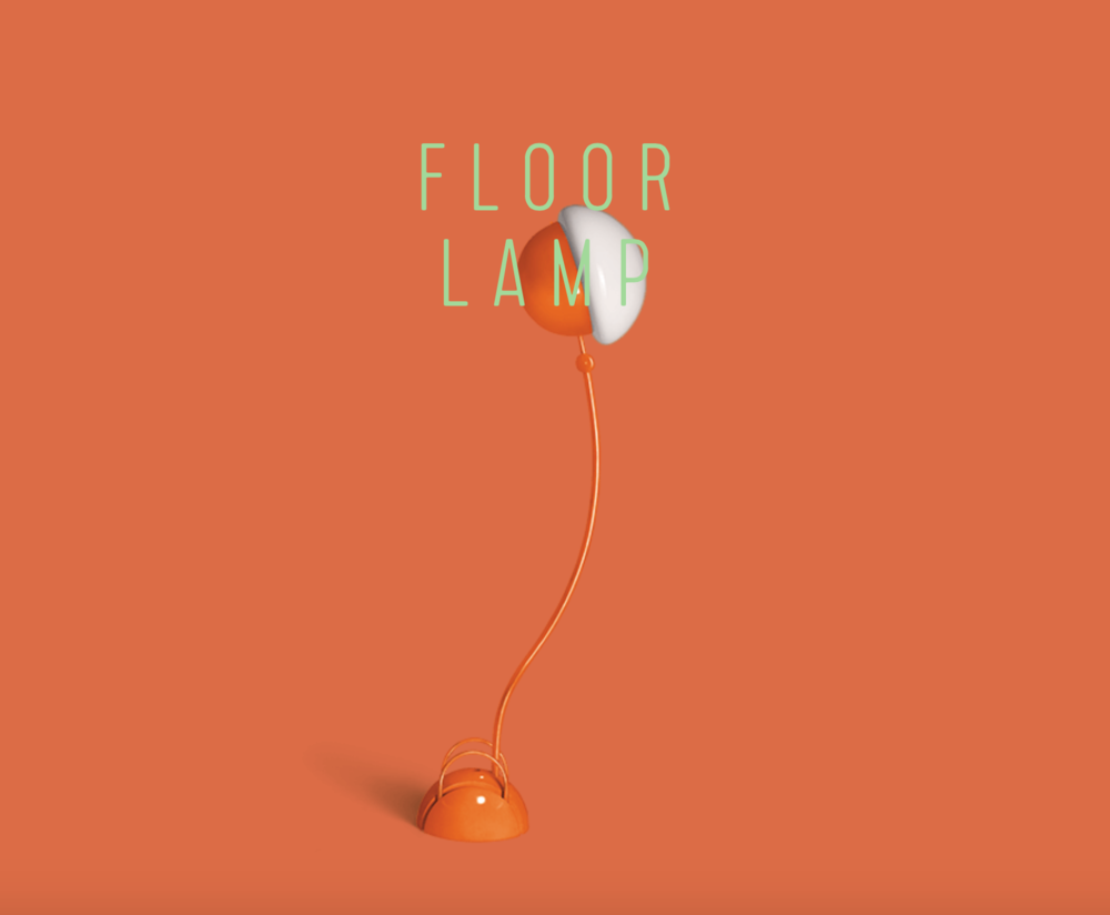 Locus Solus Floor Lamp  - Inquire