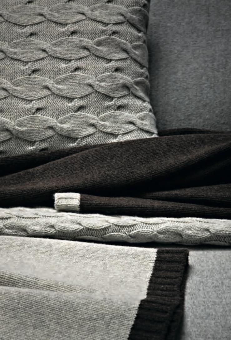 Nicholas Cushion and David & Alex Blankets  - Inquire