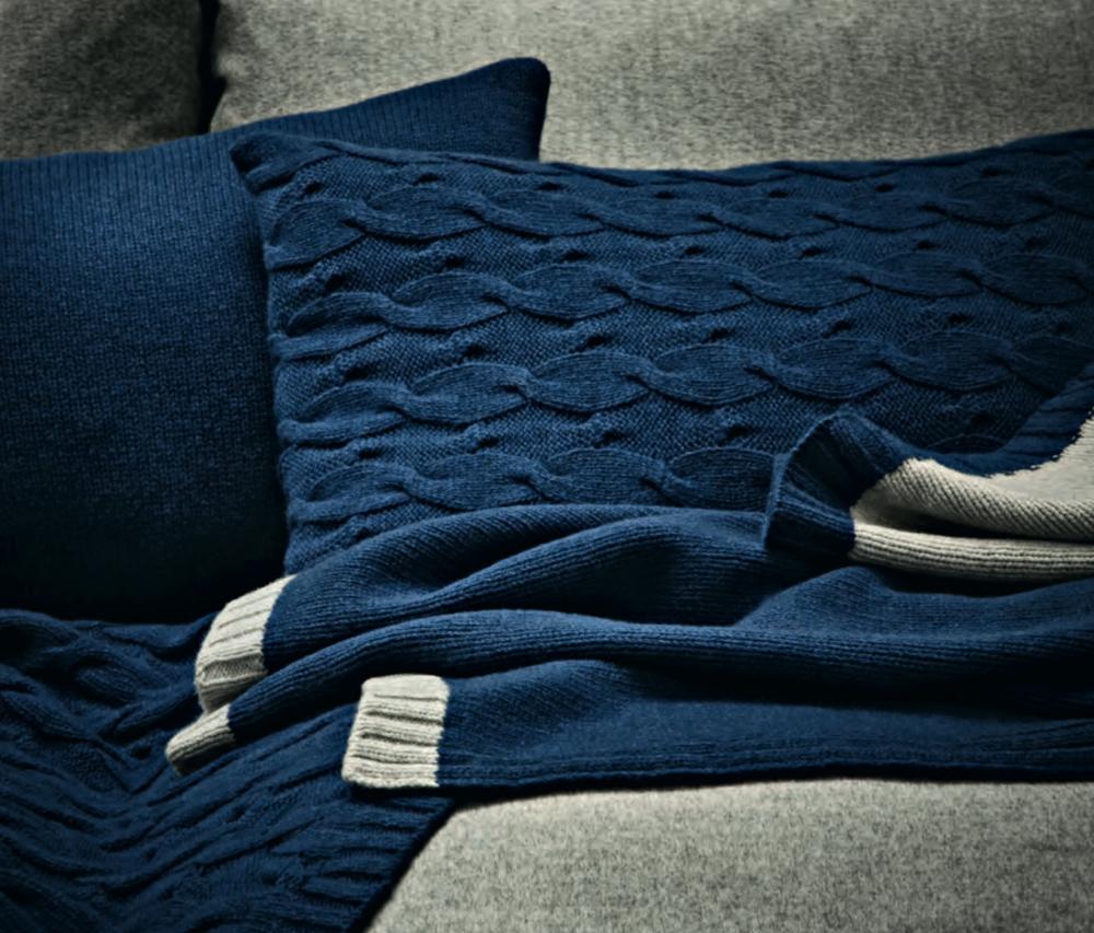 David and Nicholas Blankets & Cushions  - Inquire