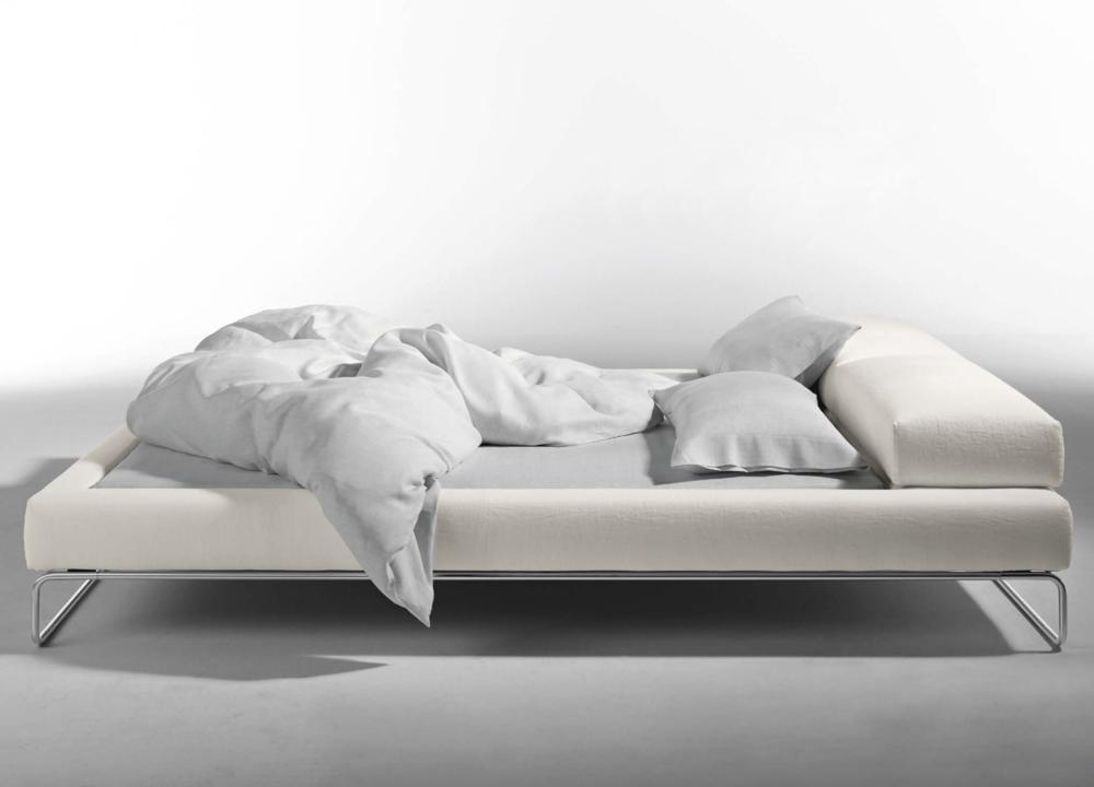 Long Island Basic Bed in Gentlemen Linen Set  - Inquire