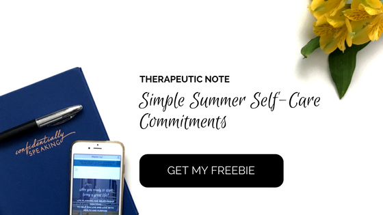 Simple Summer Self-Care Commitments