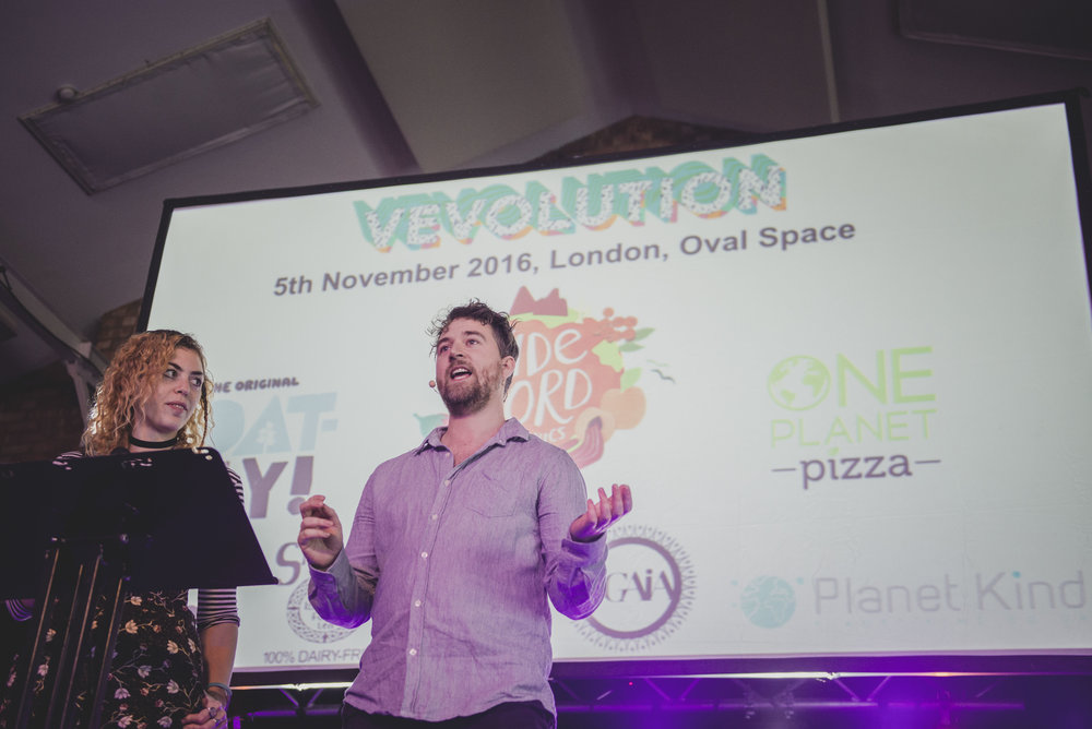 Growing Box's Judy Nadel and Damien Clarkson pictured at Vevolution 2017