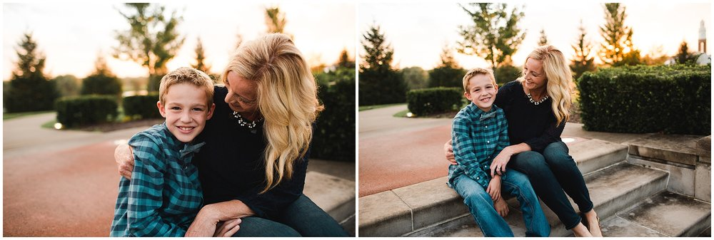 Indianapolis Family Photographer at Coxhall Gardens