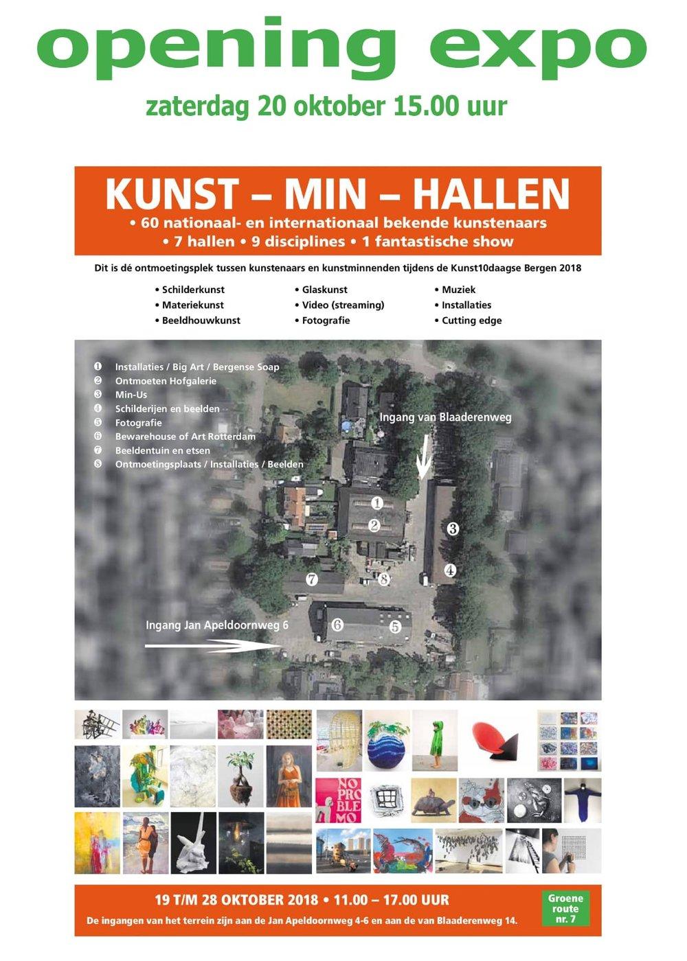 Kunst Min Hallen Bergen Kunst 10 daagse Eli Dijkers Art Photography