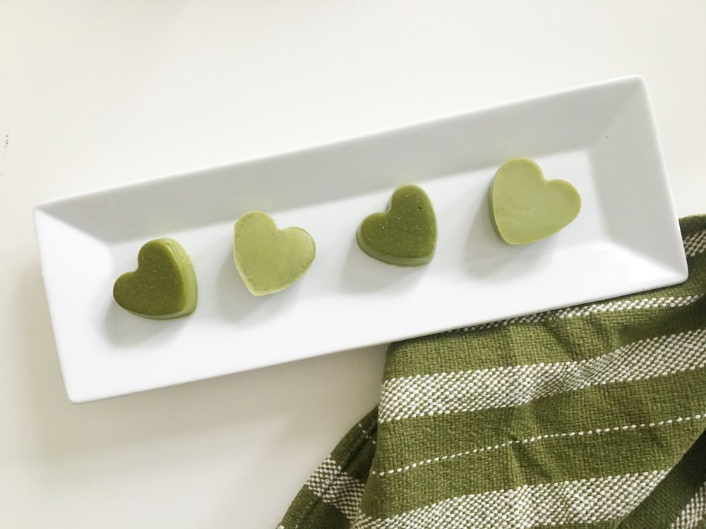 Full of immune boosting ingredients, these Matcha Mint Gummies are perfect for St. Patrick's Day.