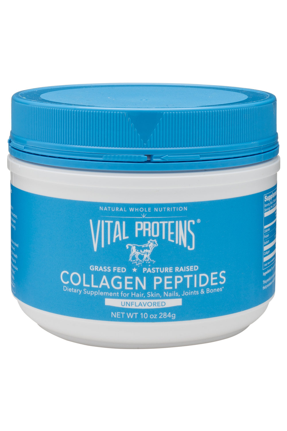 Vital Proteins Collagen Peptides Gluten-Free I use this everyday in my morning coffee & occasionally smoothies. It's great for my nails, hair & skin!