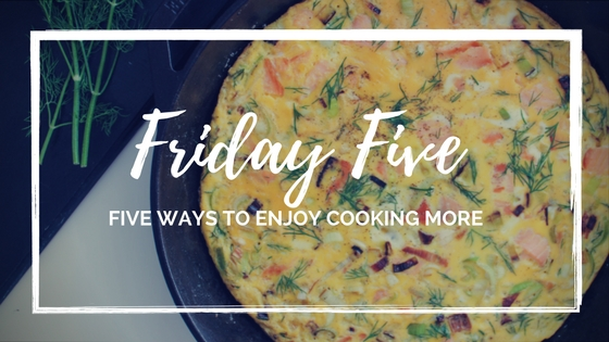 fridayfivecookmore