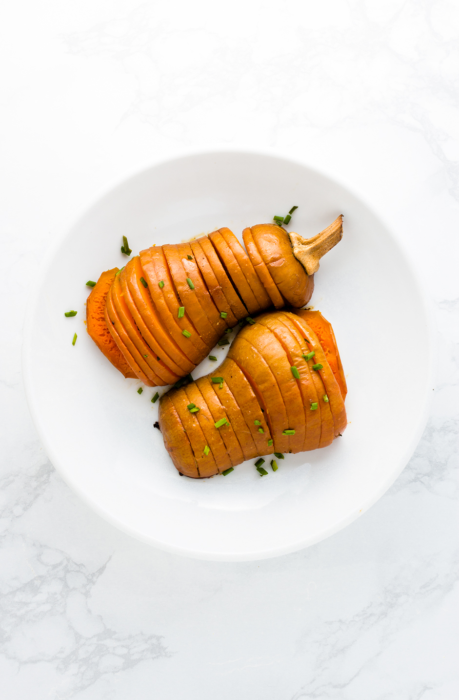 Sweet and salty, these Maple Miso Honeynut Squash are adorable and delicious.
