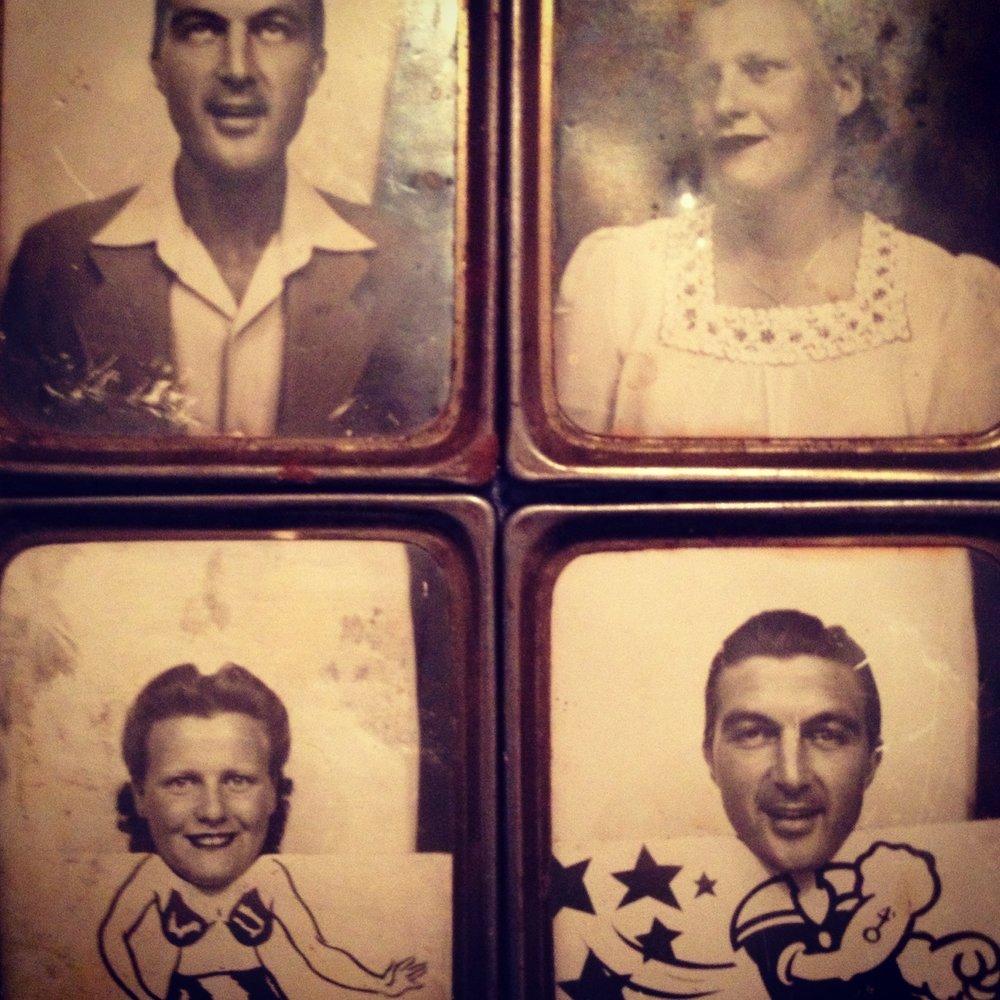 My grandparents, Robert & Ethel