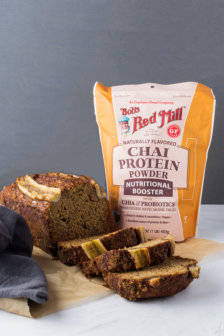 Try this Chai Spiced Banana Bread today and have a little taste of fall.