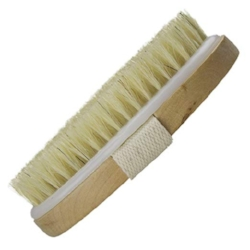 Wholesome Body Dry Brush   Great stocking stuffer for the wellness and self-care lover in your life, dry brushing helps improve circulation and exfoliate your skin.