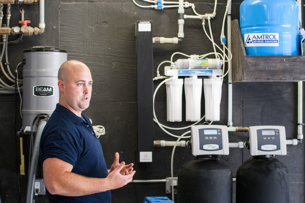 water softner whole house water filtration uv light and reverse osmosis system