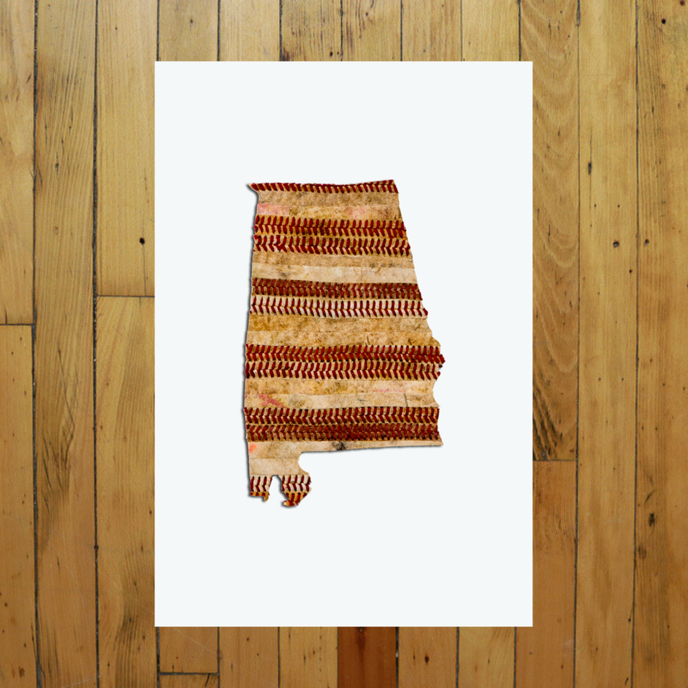 UNFRAMED PRINT OF STATE ARTWORK