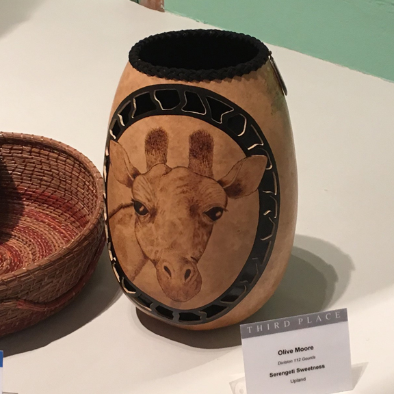 Pyrography - Third Place - Olive Moore