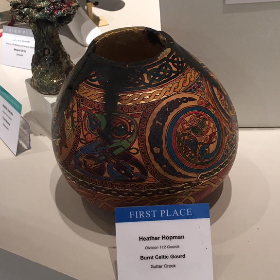 Pyrography - First Place - Heather Hopman