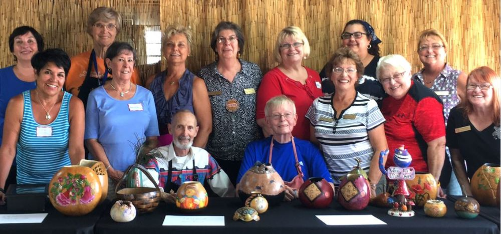 Orange & San Diego County CGS Members Receive American Gourd Society Judges Training
