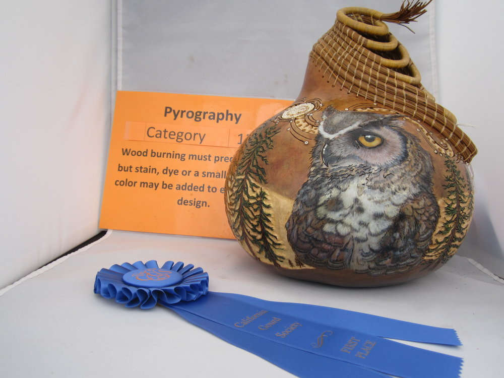 Lisa Baurmeister - Advanced - Pyrography - 1st Place - People Choice
