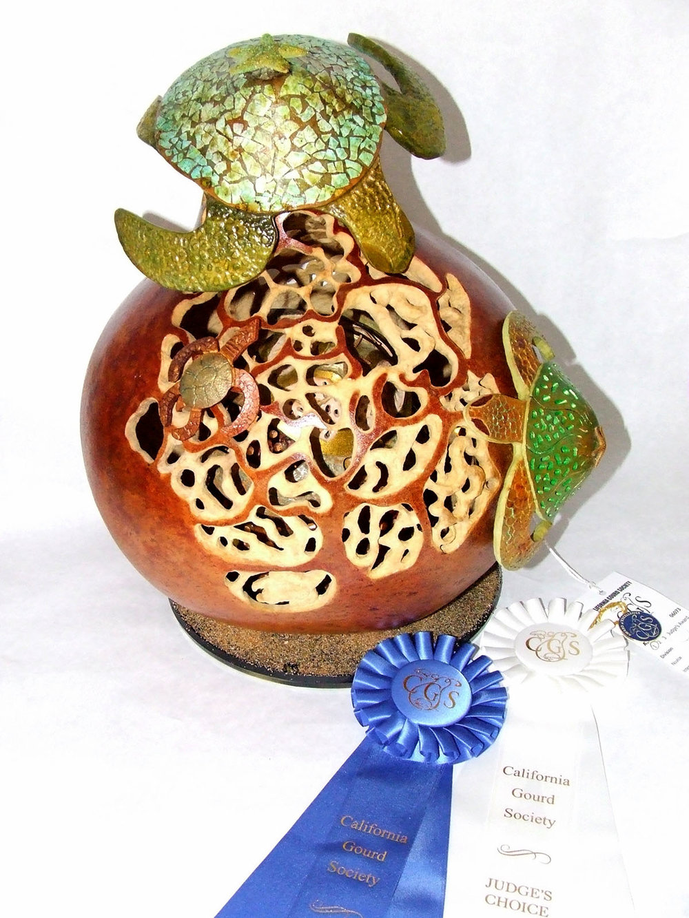 Pam Watson - People's Choice - Advanced - Filigree - 1st Place