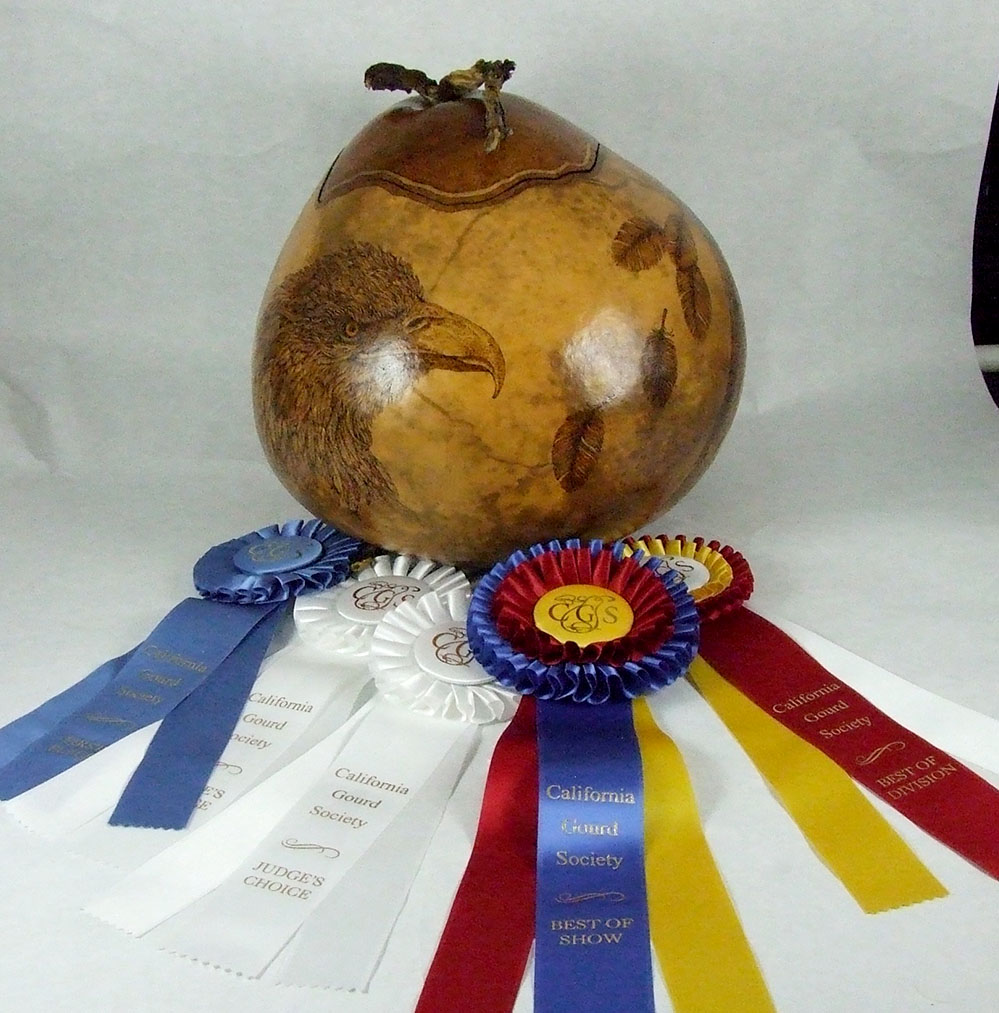 Reetsie Fuller - Best of Show - Master - Best of Division - Pyrography - 1st Place