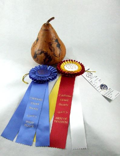 Shannon Valenira  - Best of Division - Novice - Pyrography - 1st Place