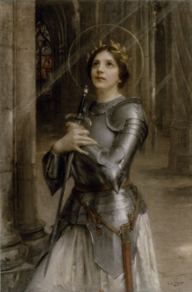 Charles Amable Lenoir -  St Joan of Arc