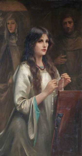 The Rosary ~ Beatrice Offor (1864-1920)