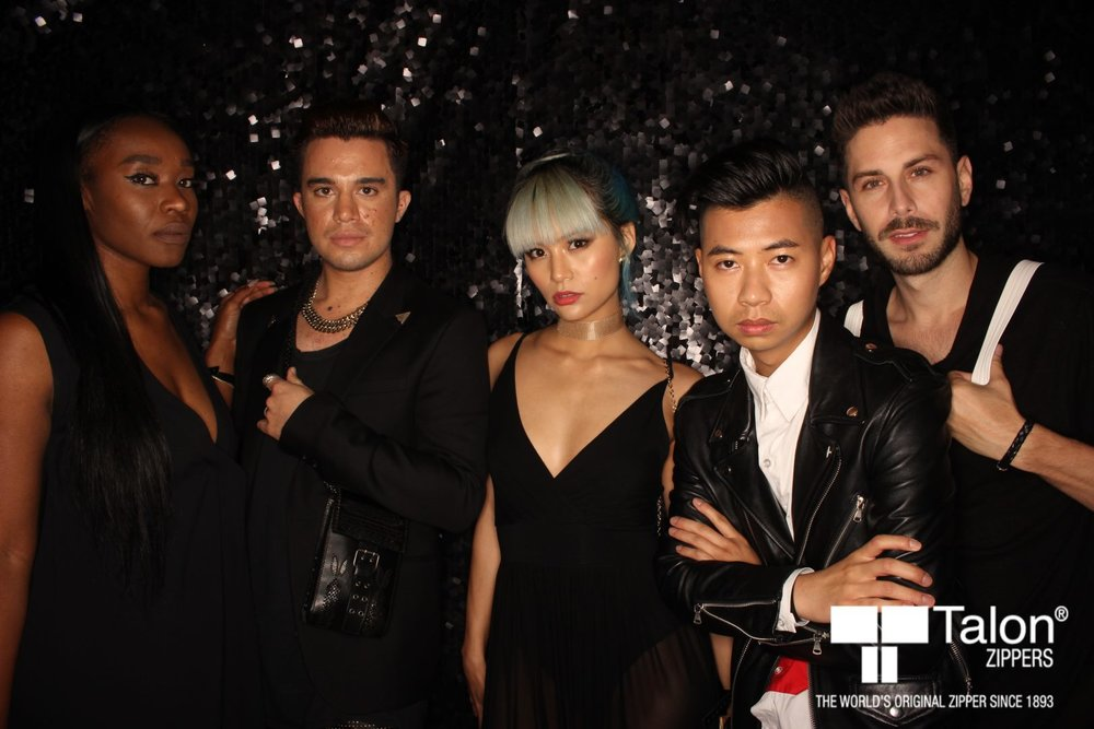With influencers (from left) Mya, Yuki, Tommy & Cameron